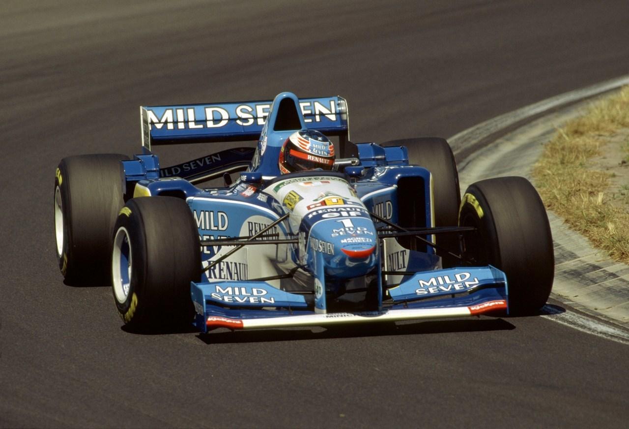 Michael Schumacher Benetton B195 GP Hungría 1995