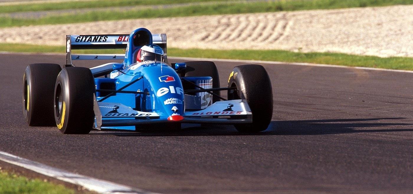 Michael Schumacher Ligier Test Estoril 1994