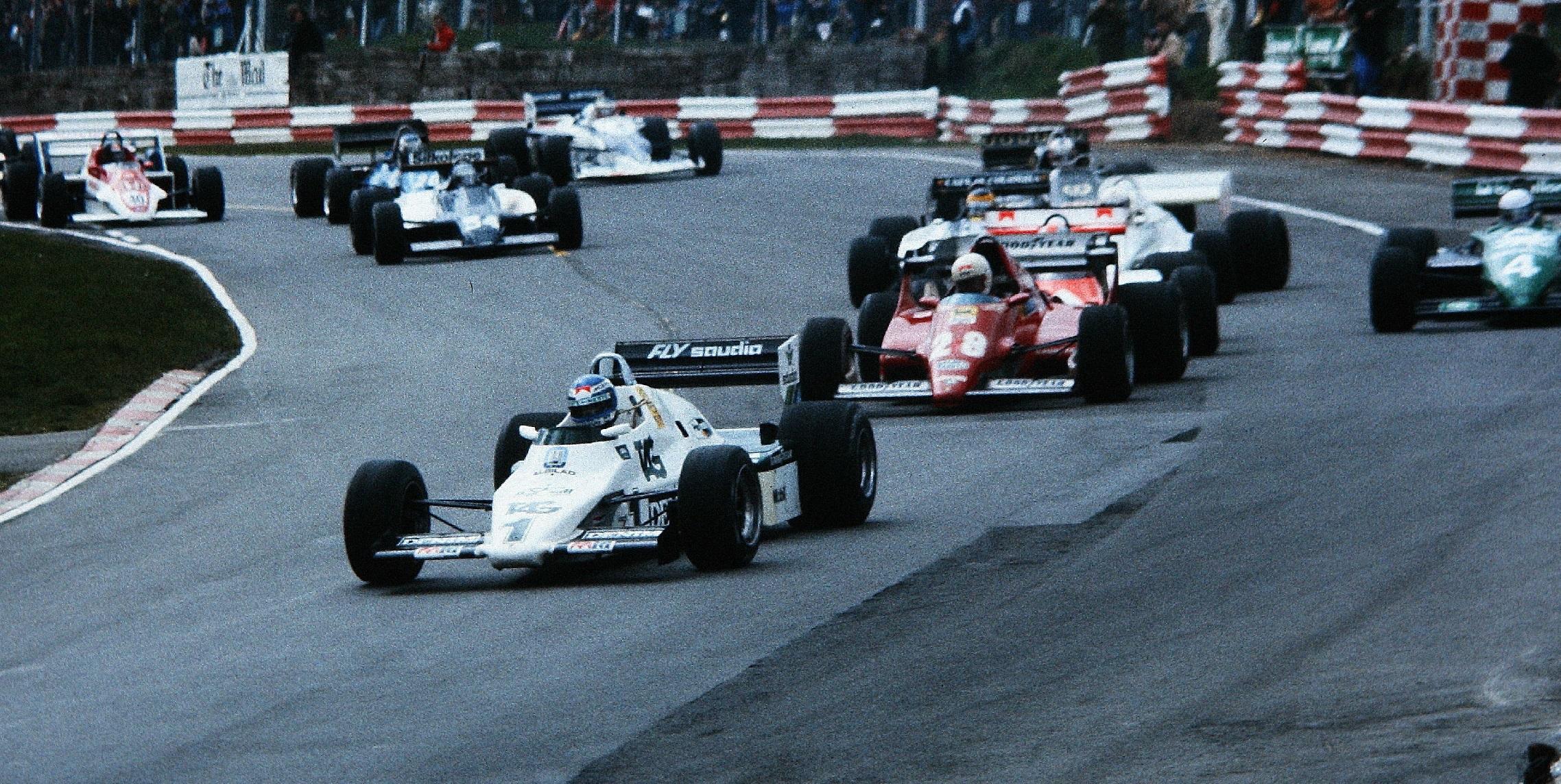 Salida Race Of Champions 1983 Keke Rosberg