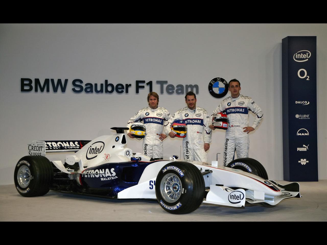 BMW Sauber Presentación 2006