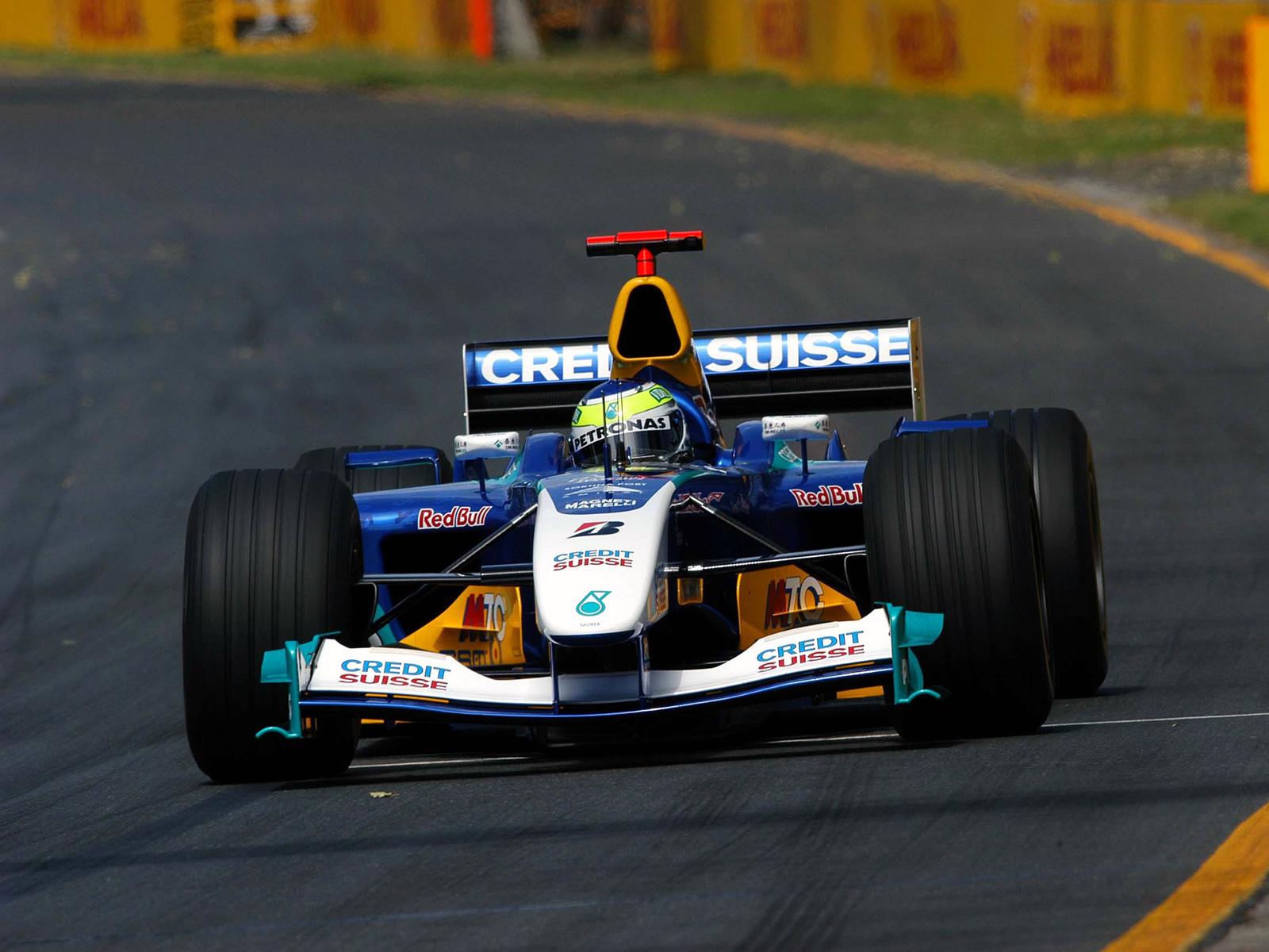 Sauber GP Australia 2004 Giancarlo Fisichella