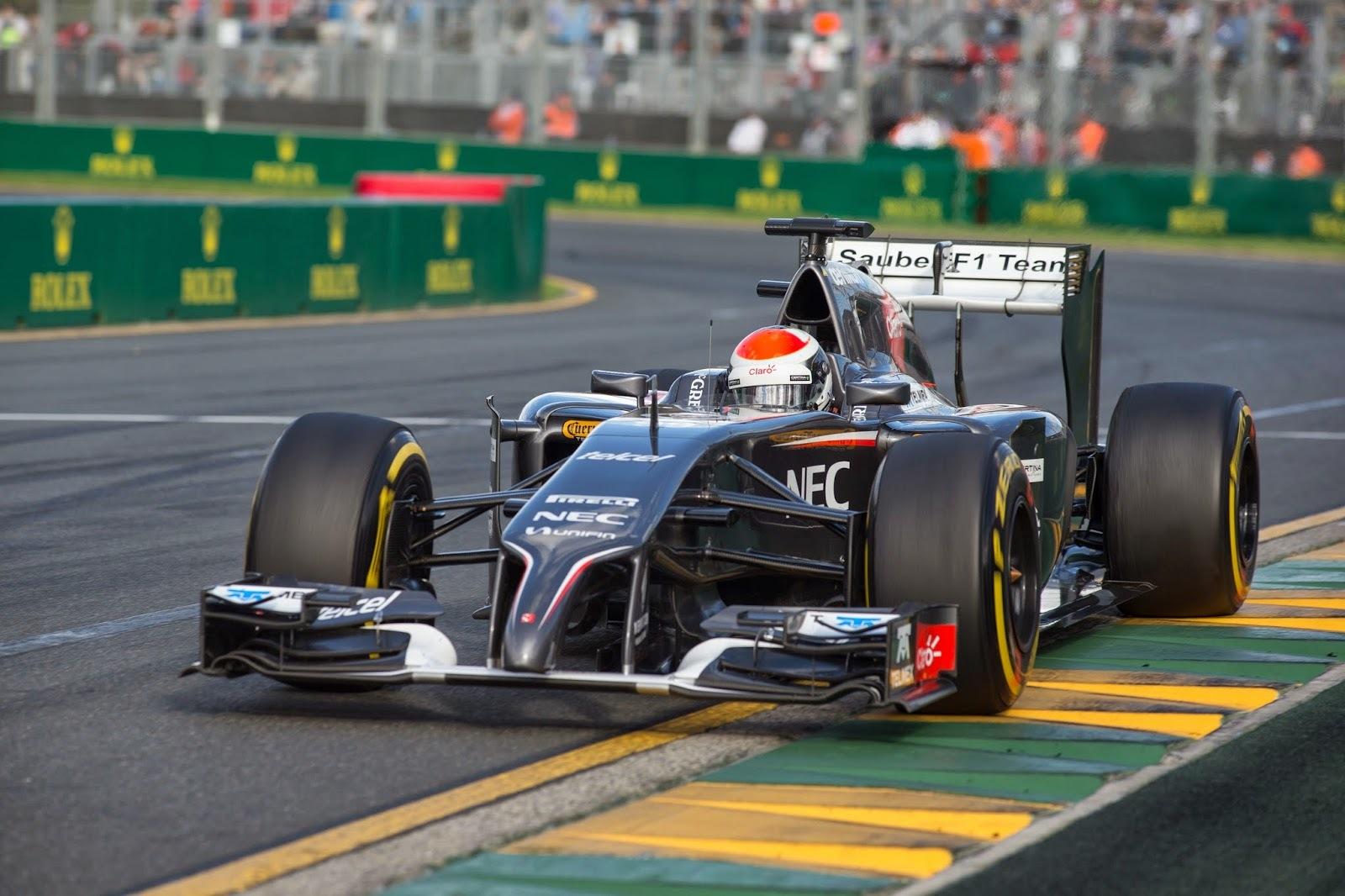 Sauber GP Australia 2014 Adrian Sutil