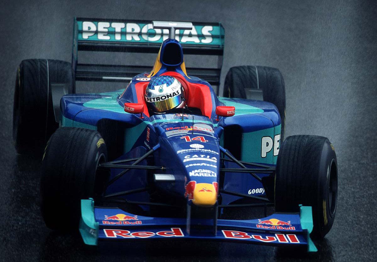 Sauber GP Bélgica 1998 Jean Alesi