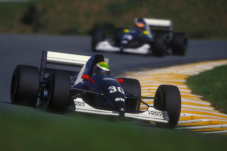 Sauber GP Brasil 1993 J.J. Lehto