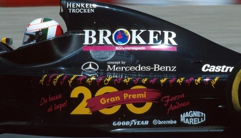 Sauber GP Canadá 1994 Andrea De Cesaris