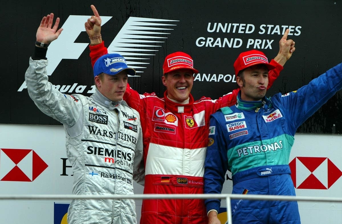 Sauber GP EE.UU. 2003 Heinz-Harald Frentzen