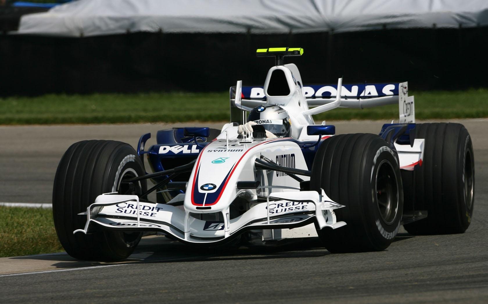 Sauber GP EE.UU. 2007 Sebastian Vettel