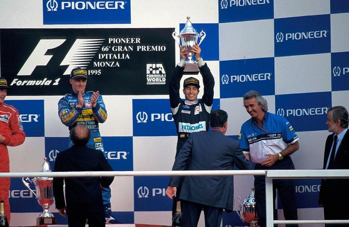 Sauber GP Italia 1995 Heinz-Harald Frentzen
