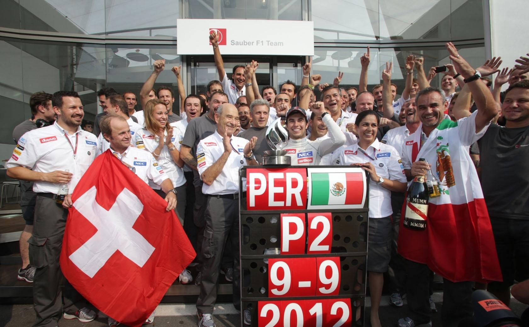 Sauber GP Italia 2012 Sergio Pérez