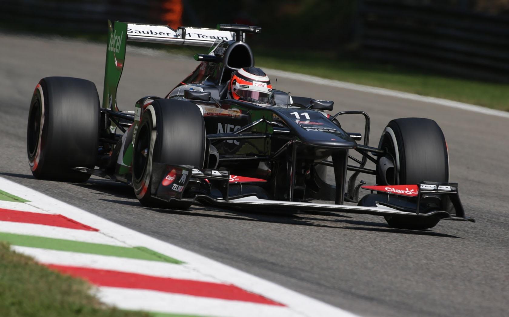 Sauber GP Italia 2013 Nico Hülkenberg