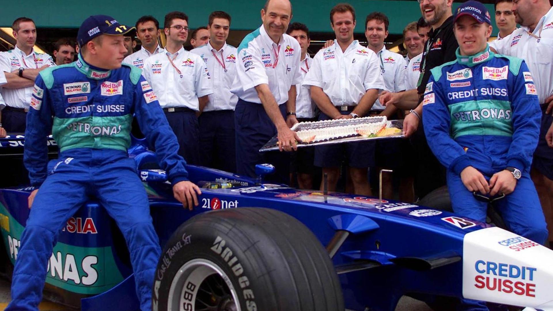 Sauber GP Japón 2001 Equipo