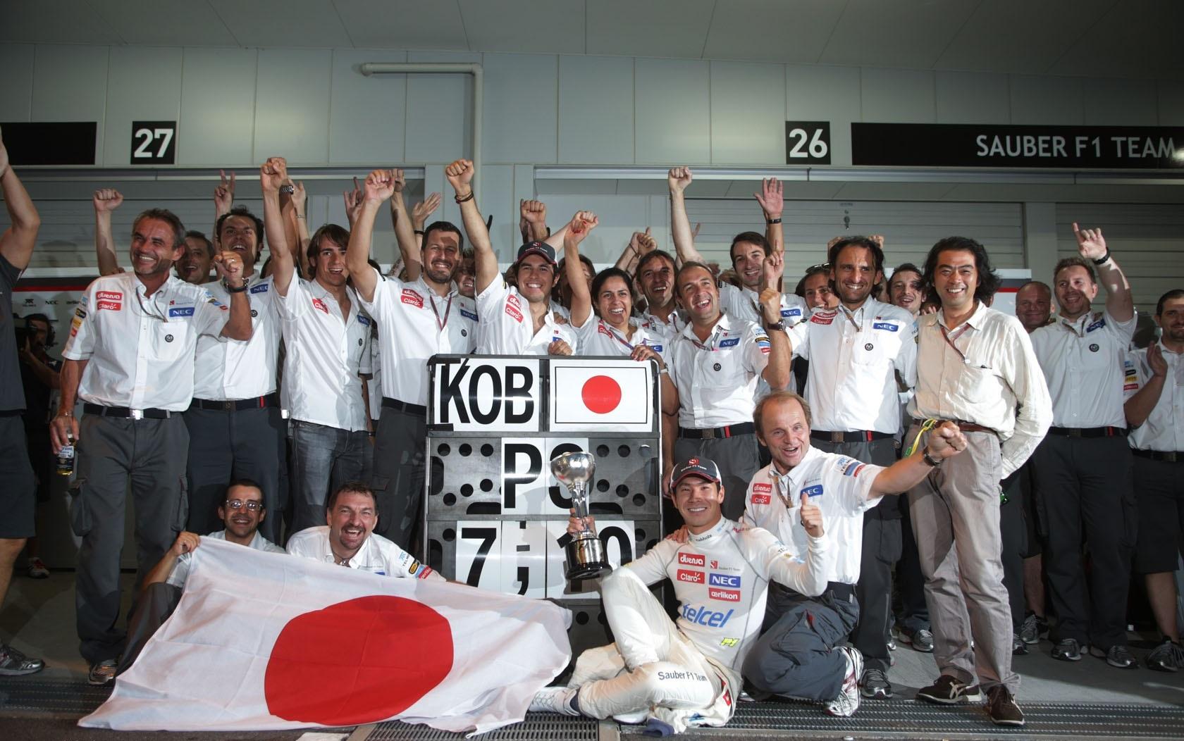 Sauber GP Japón 2012 Kamui Kobayashi