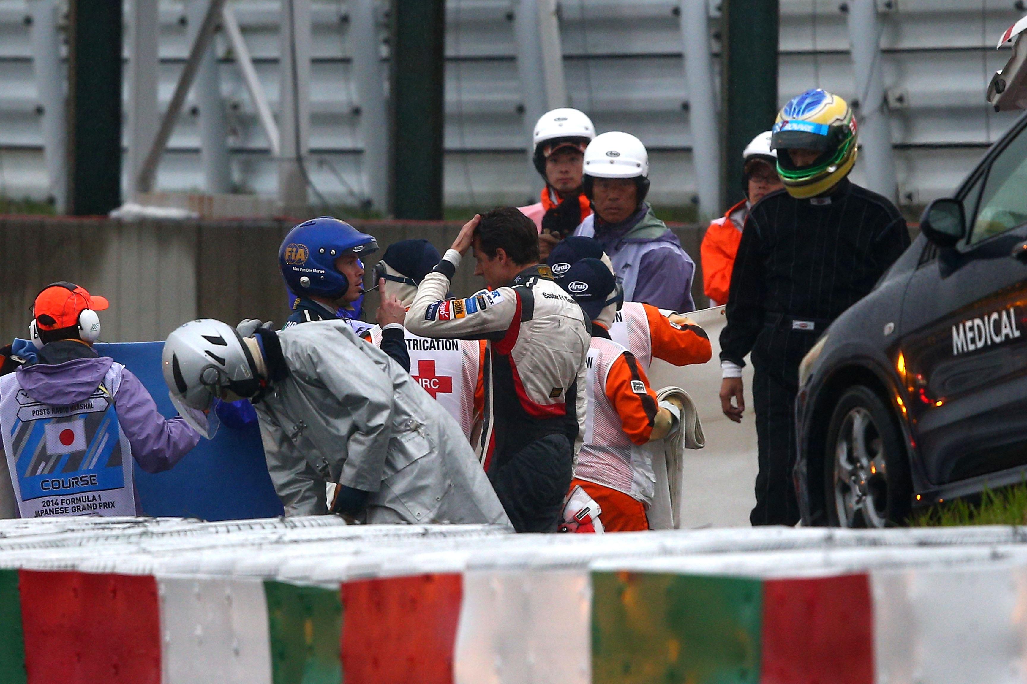 Sauber GP Japón 2014 Adrian Sutil