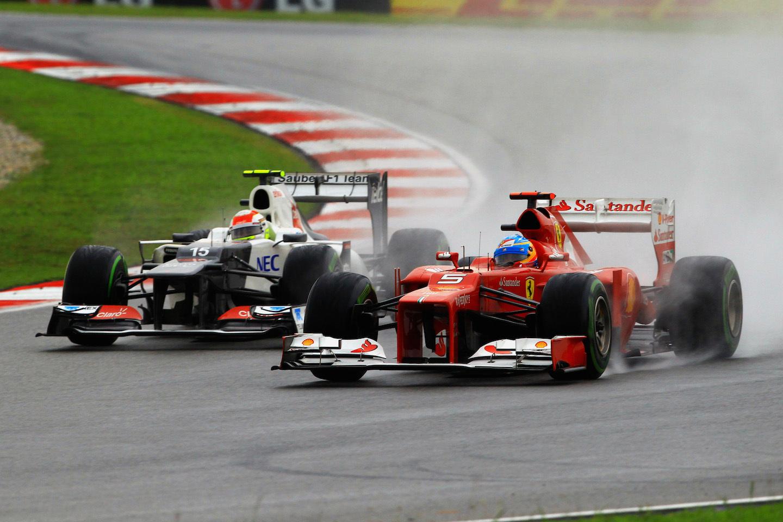 Sauber GP Malasia 2012 Sergio Pérez