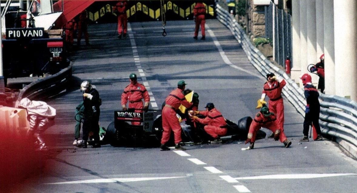 Sauber GP Mónaco 1994 Karl Wendlinger