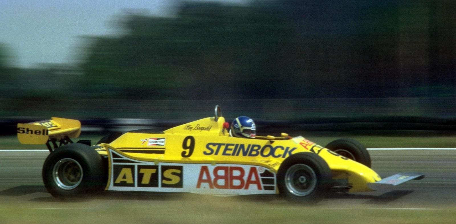 Slim Borgudd F1 ATS 1981