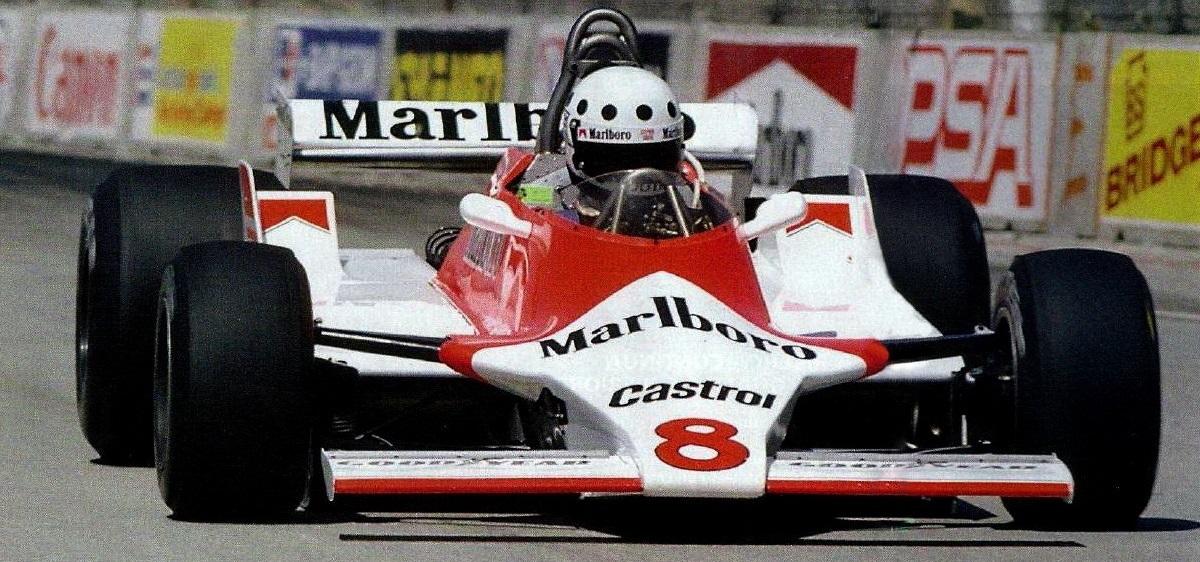 Stephen South McLaren 1980