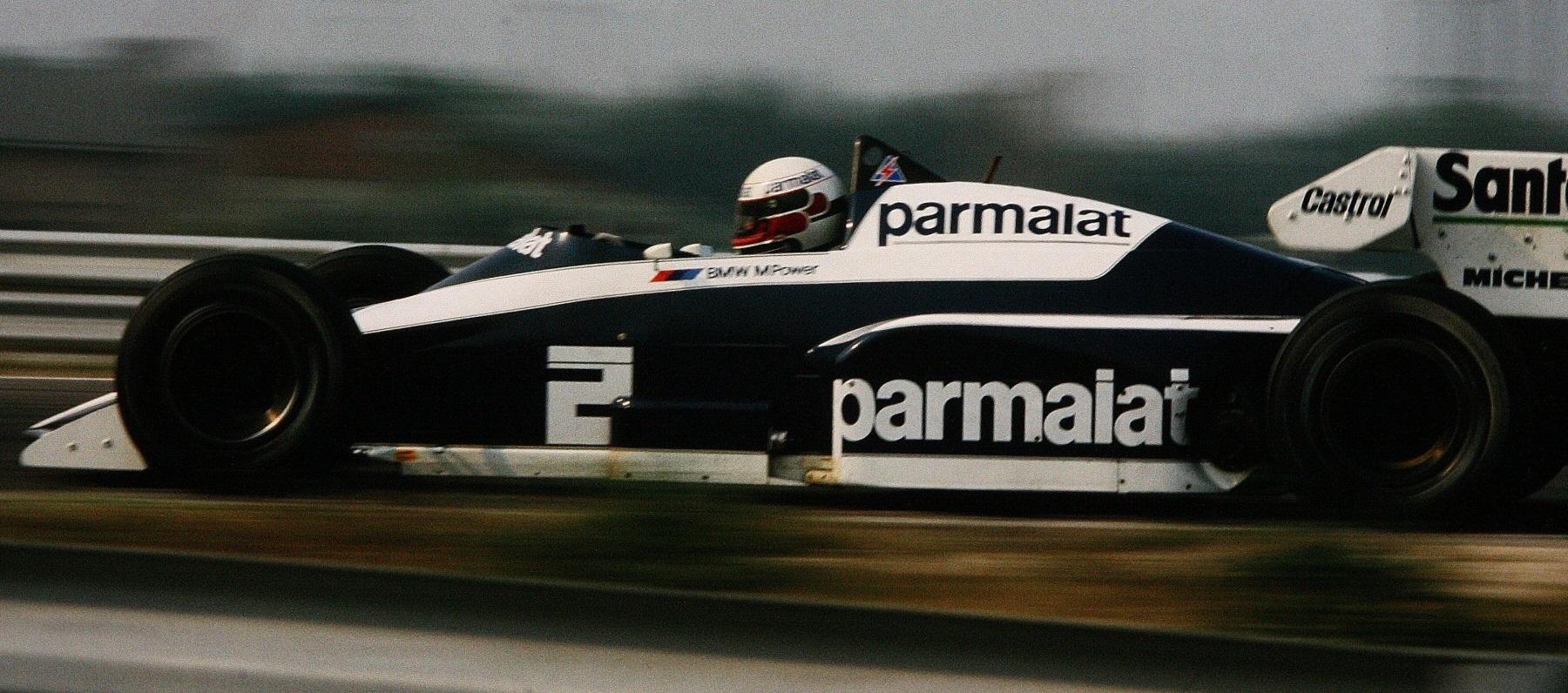 Teo Fabi 1984 Brabham GP Países Bajos