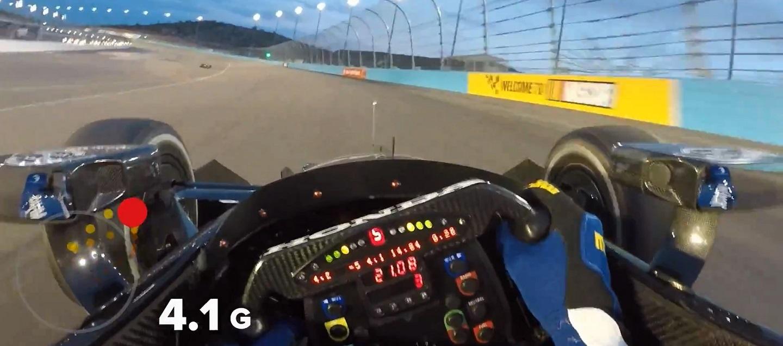 Visor Cam_ Graham Rahal at Phoenix Raceway