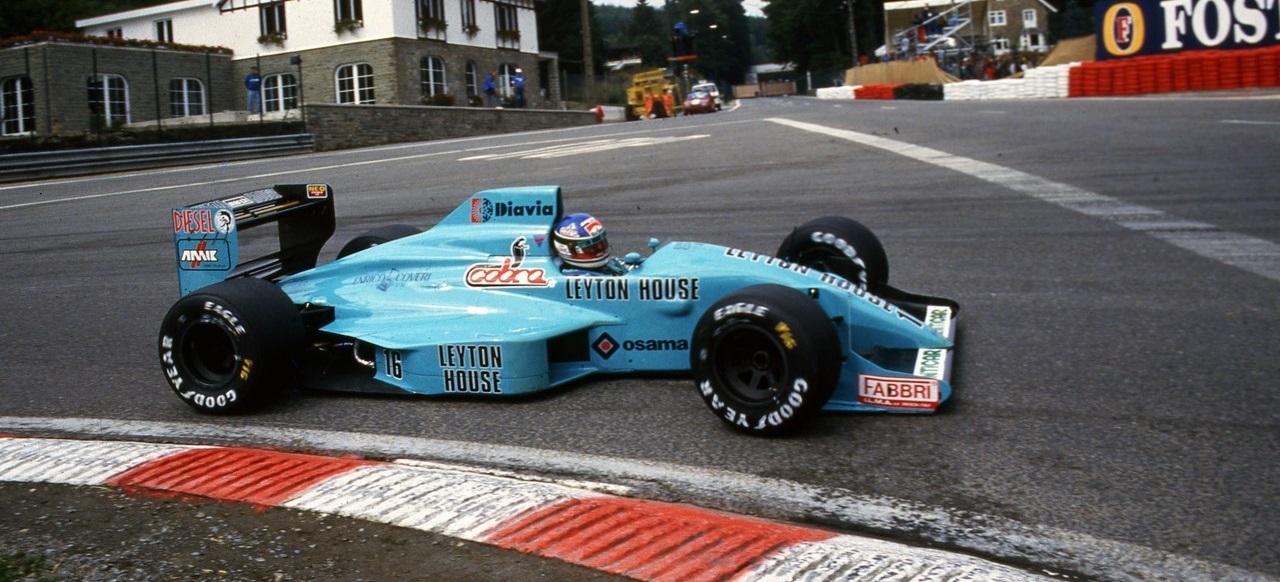 Ivan Capelli GP Bélgica 1988