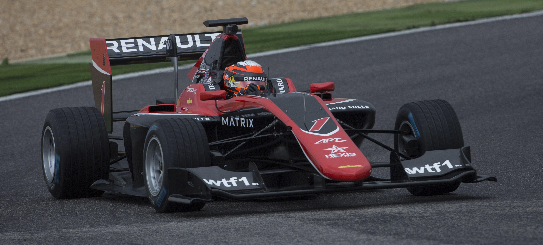 Jack Aitken GP3 Estoril Test 2017 Día 2