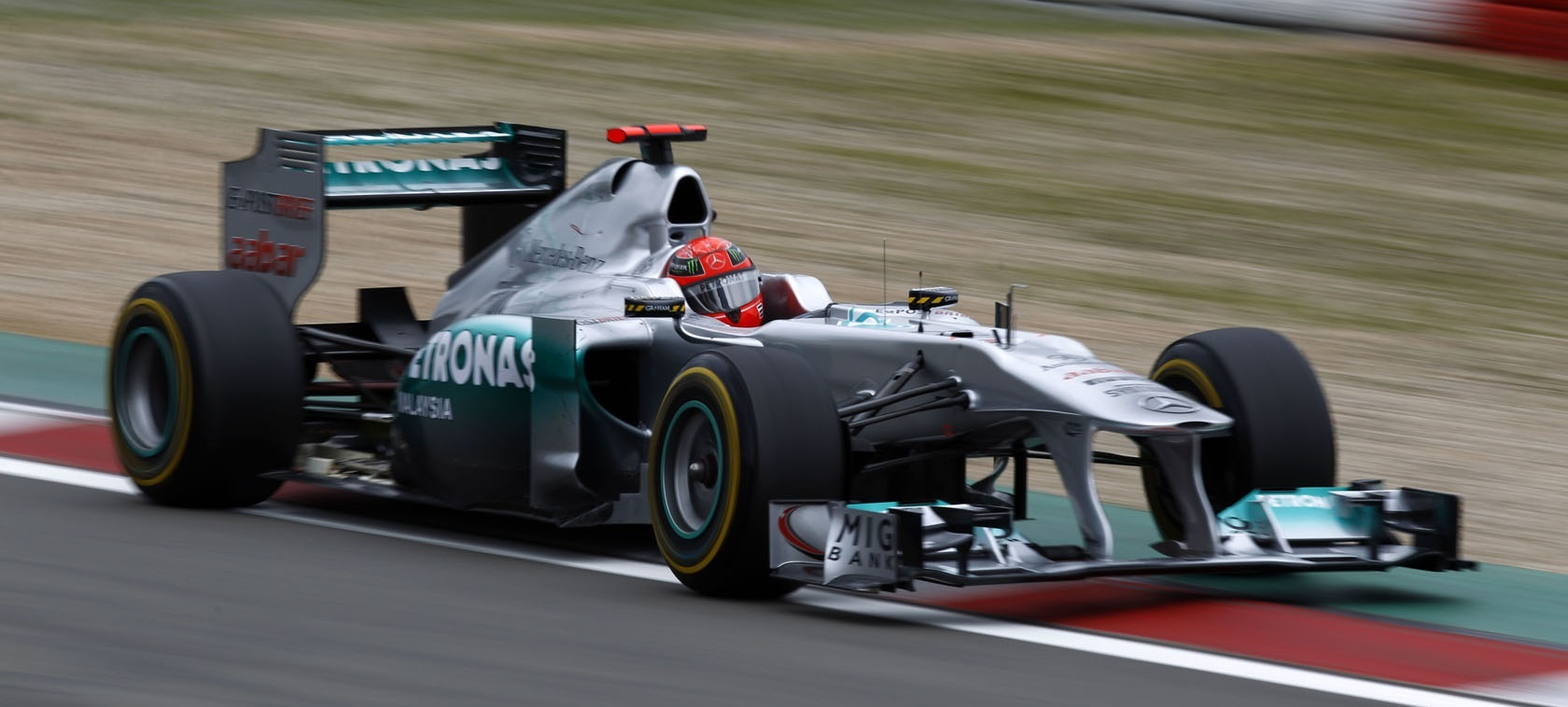 Michael Schumacher Mercedes 2011 Nürburgring