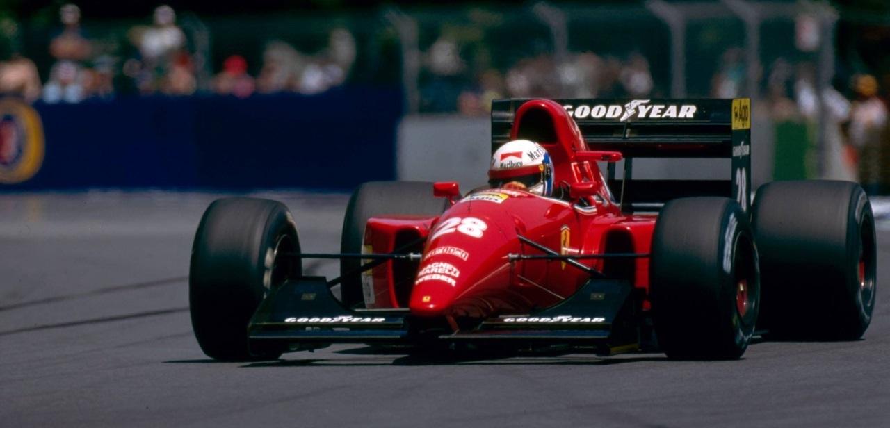 Nicola Larini GP Australia 1992 Ferrari F92AT