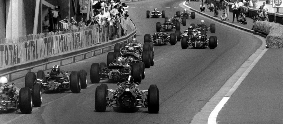 Salida GP Mónaco 1966