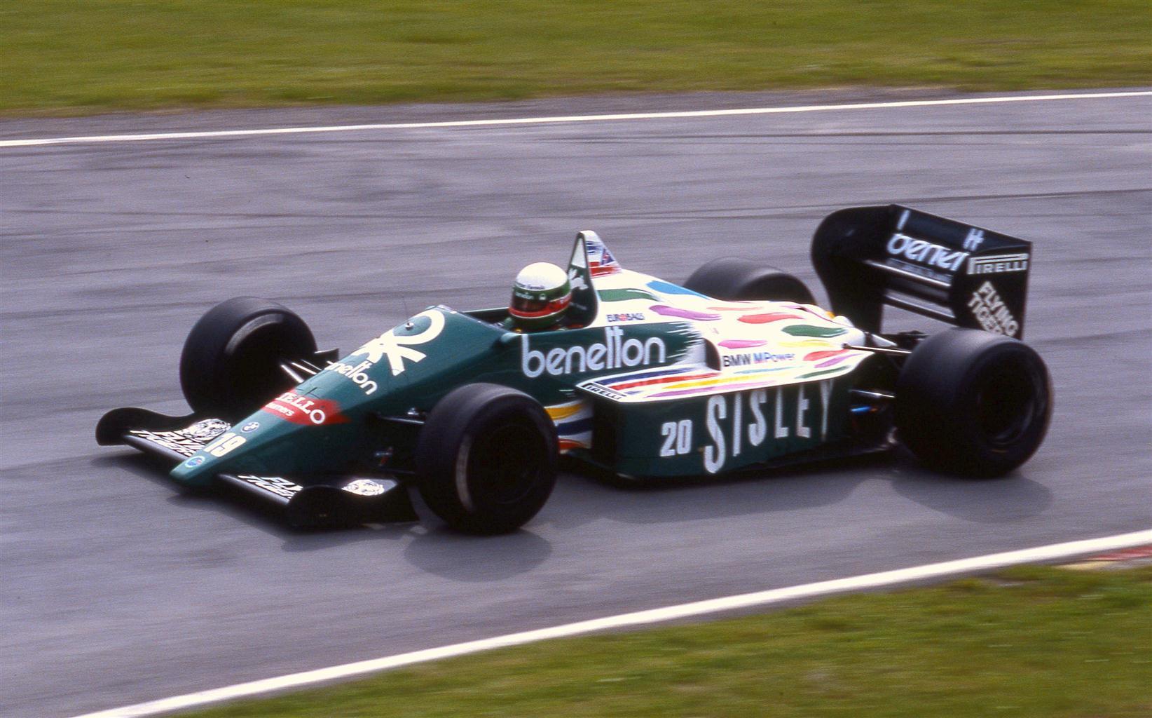 Teo Fabi 1986 Benetton