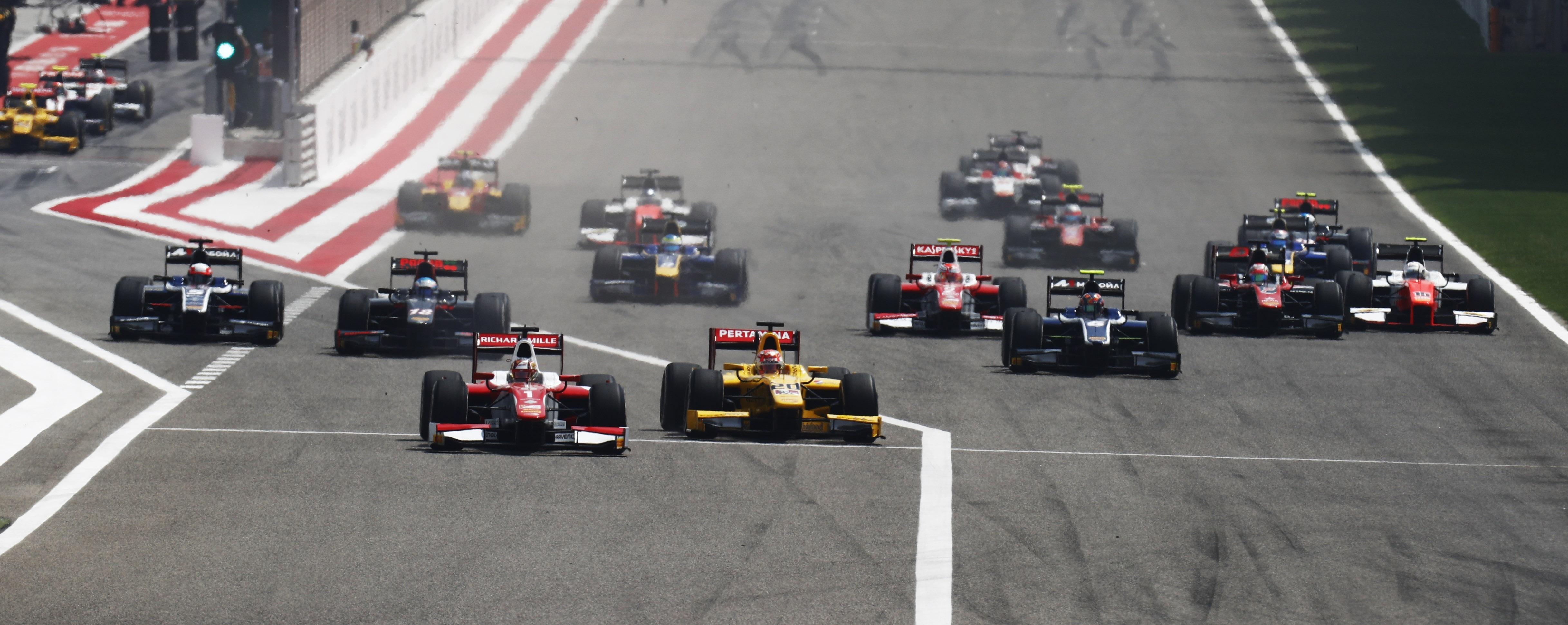 Salida F2 Bahréin 2017