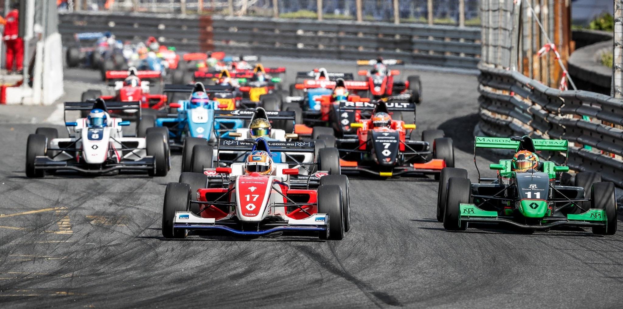 Fórmula Renault 2.0 Pau 2017