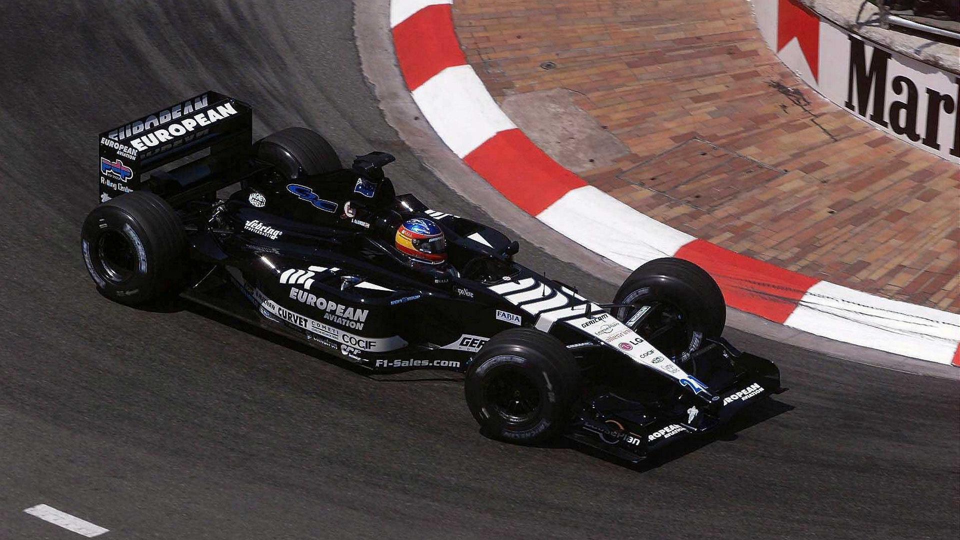 Fernando Alonso GP Mónaco 2001