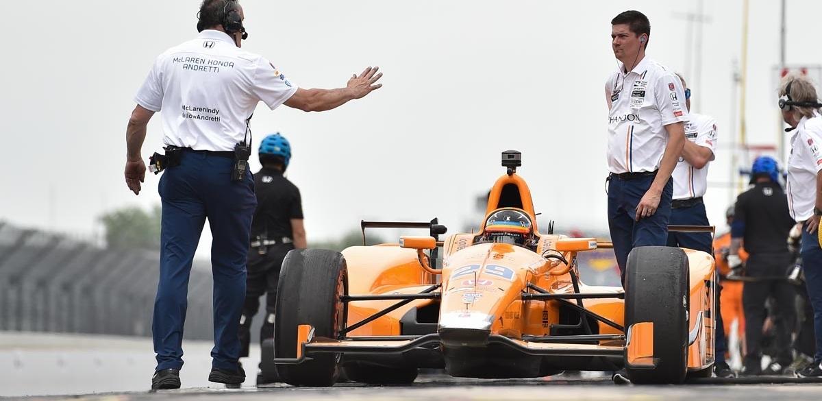 Fernando Alonso Indy 500 2017