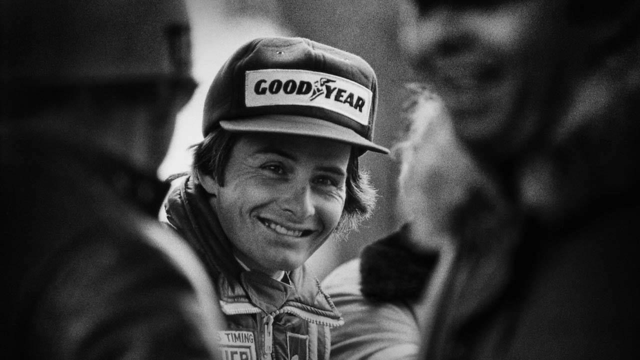 Gilles Villeneuve Retrato