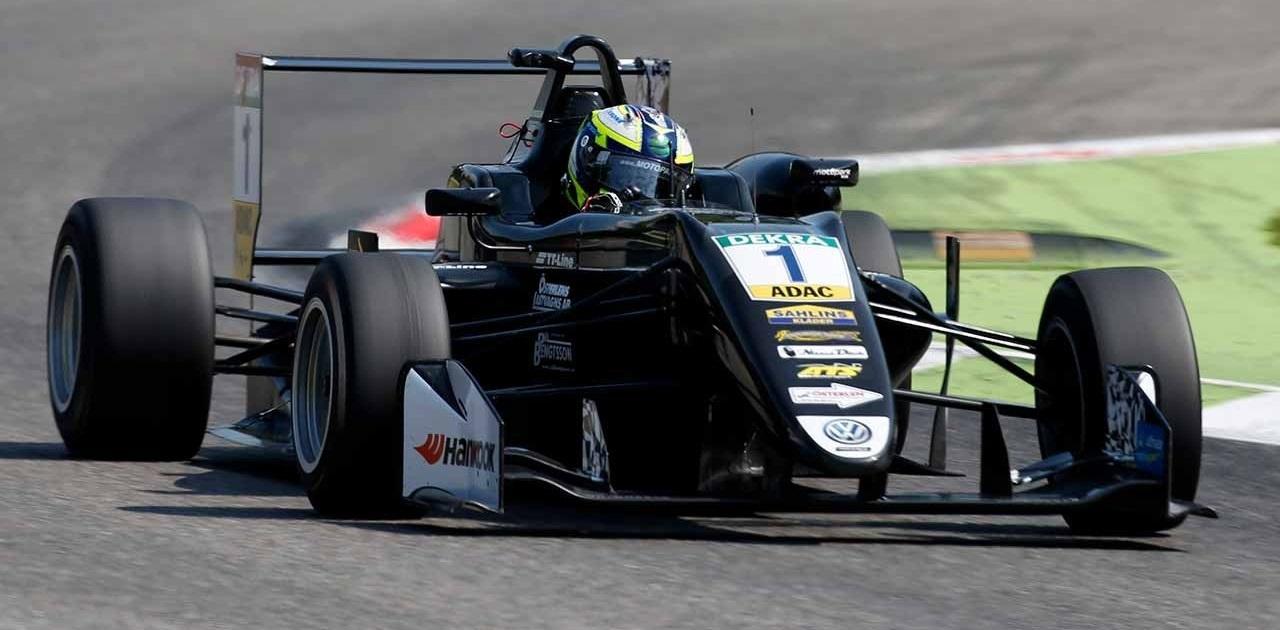 Joel Eriksson F3 Monza 2017