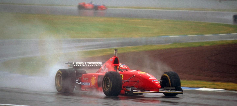Michael Schumacher GP España 1996