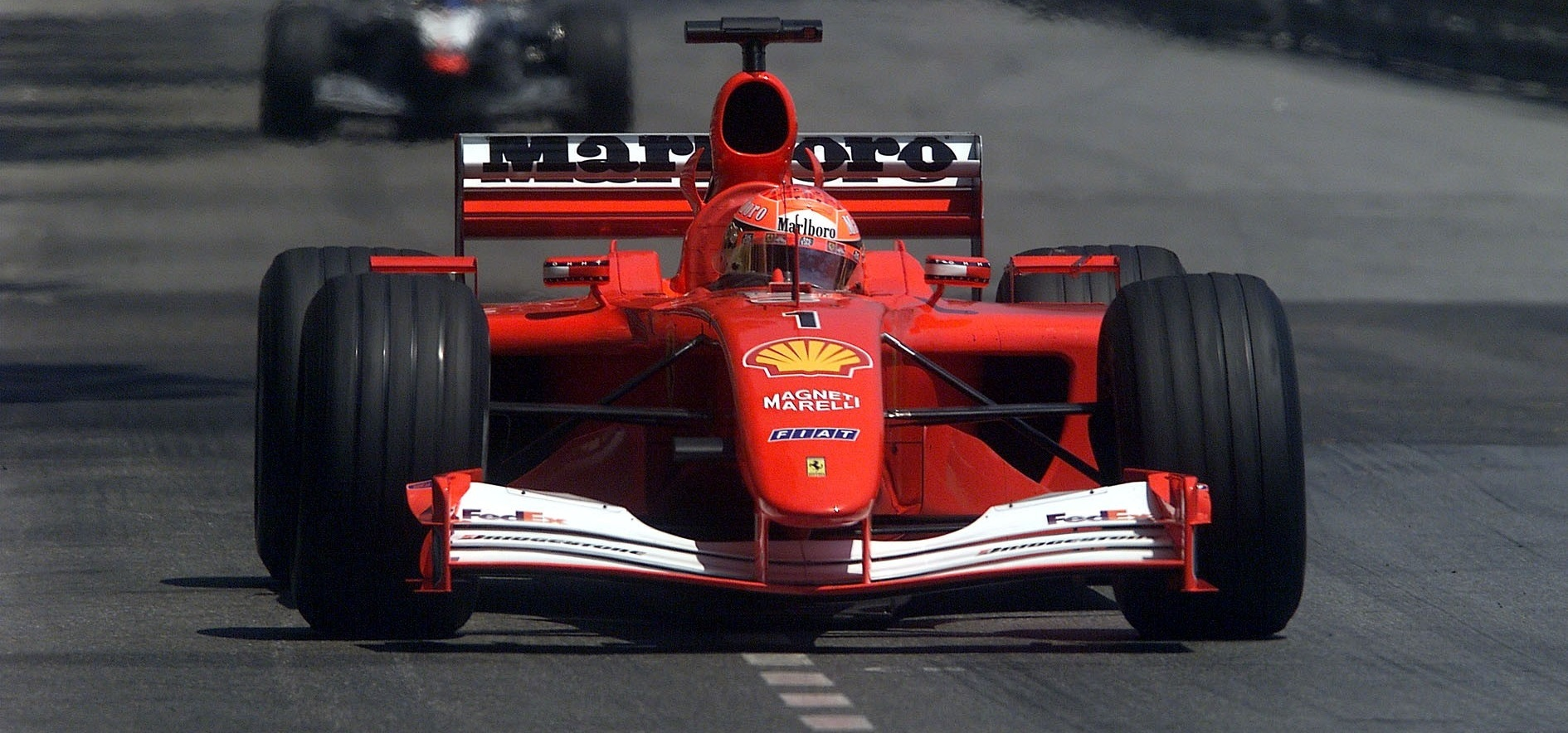 Michael Schumacher GP Mónaco 2001