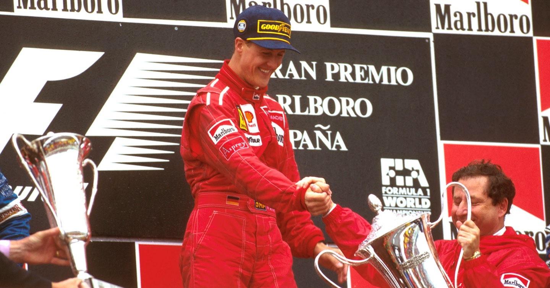 Podio GP España 1996