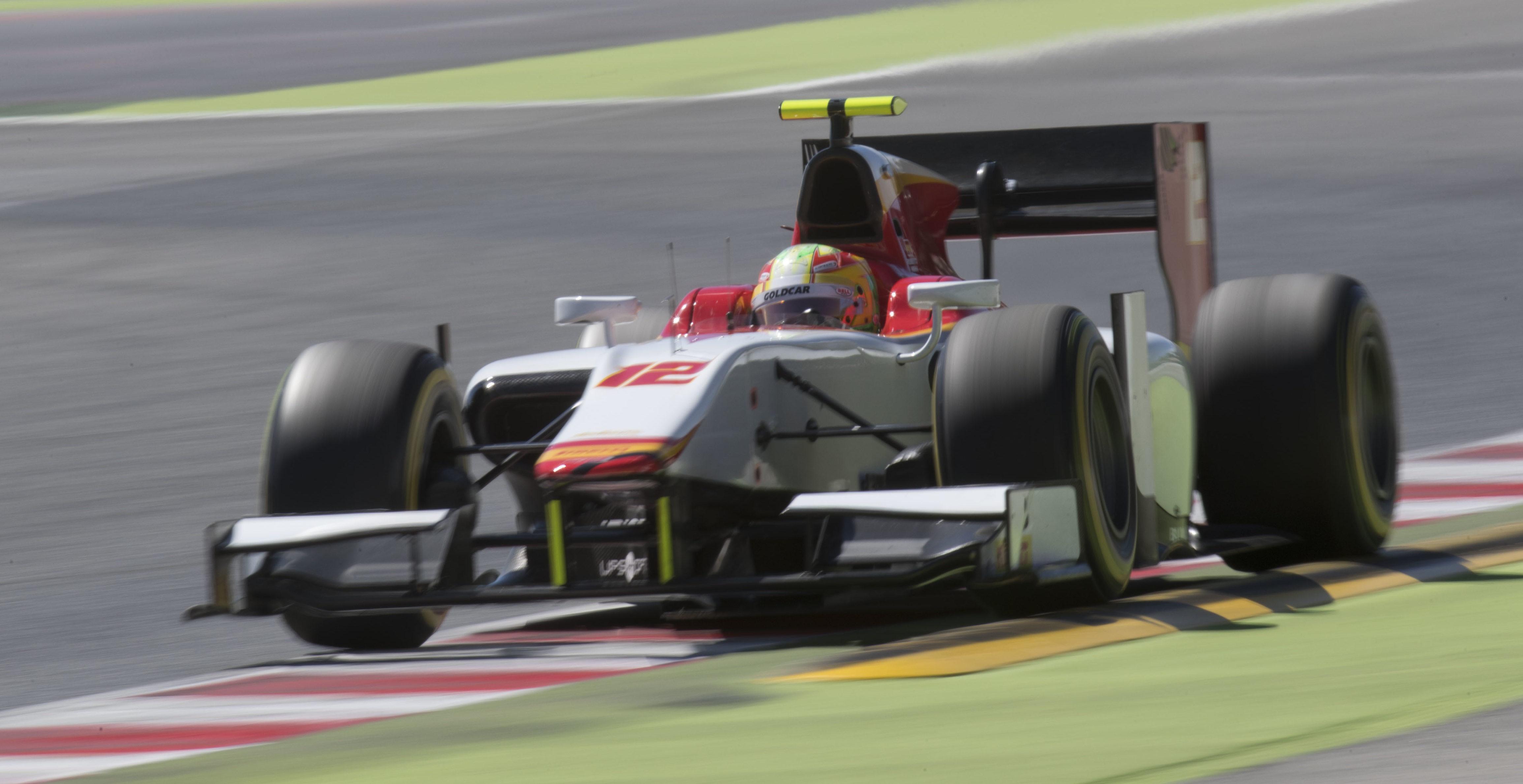Roberto Merhi F2 Barcelona 2017