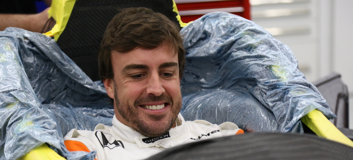 Alonso asiento IndyCar