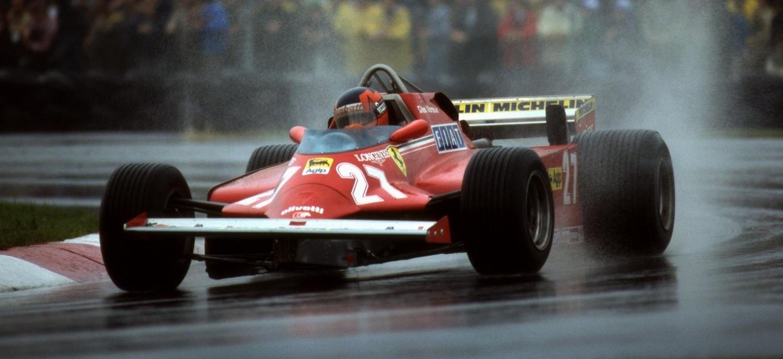 Gilles Villeneuve GP Canadá 1981