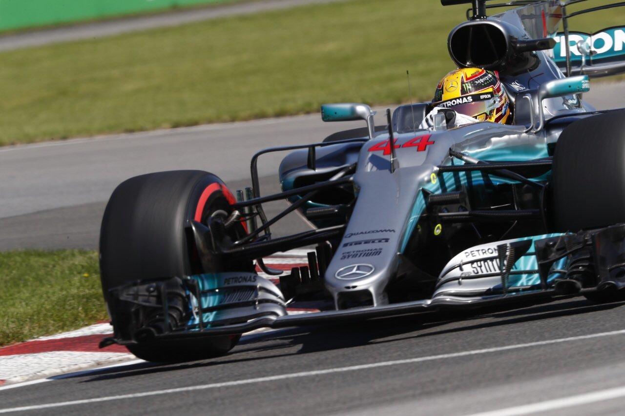 Lewis Hamilton GP Canadá 2017