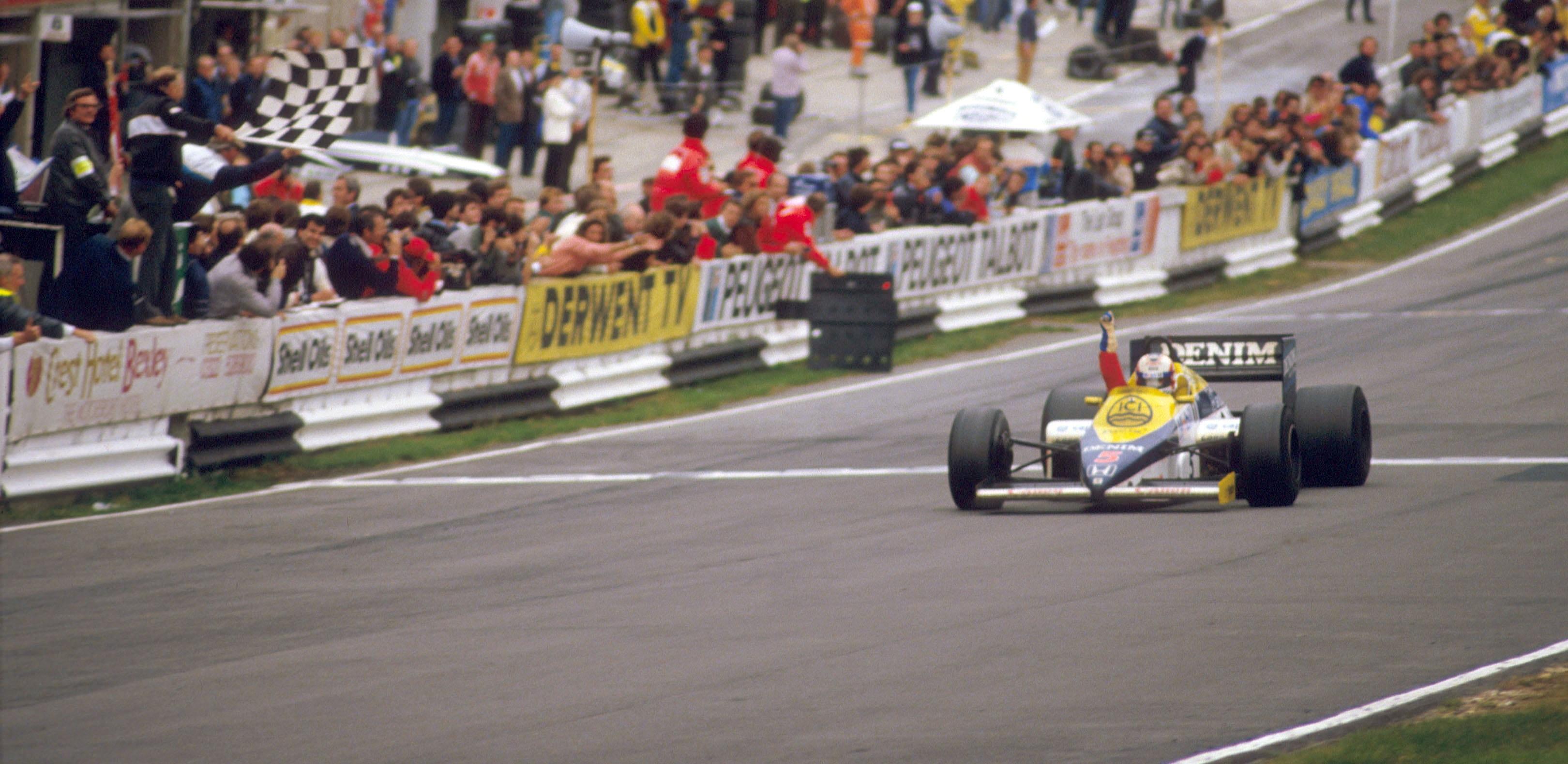 Nigel Mansell GP Europa 1985