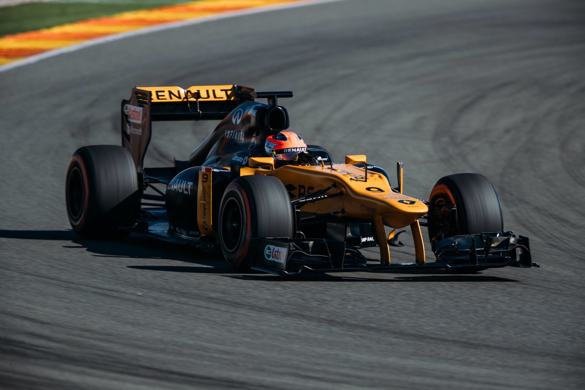 Robert Kubica 2017 Valencia Test E20