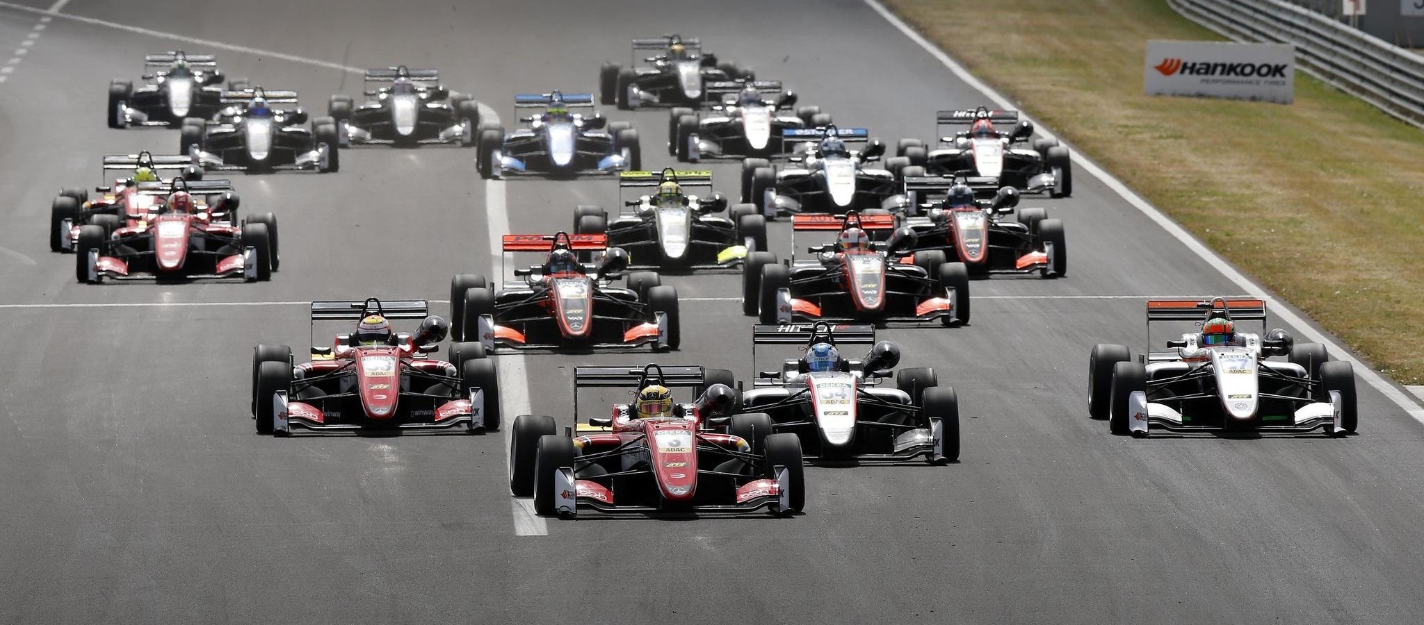 Salida F3 Hungaroring 2017