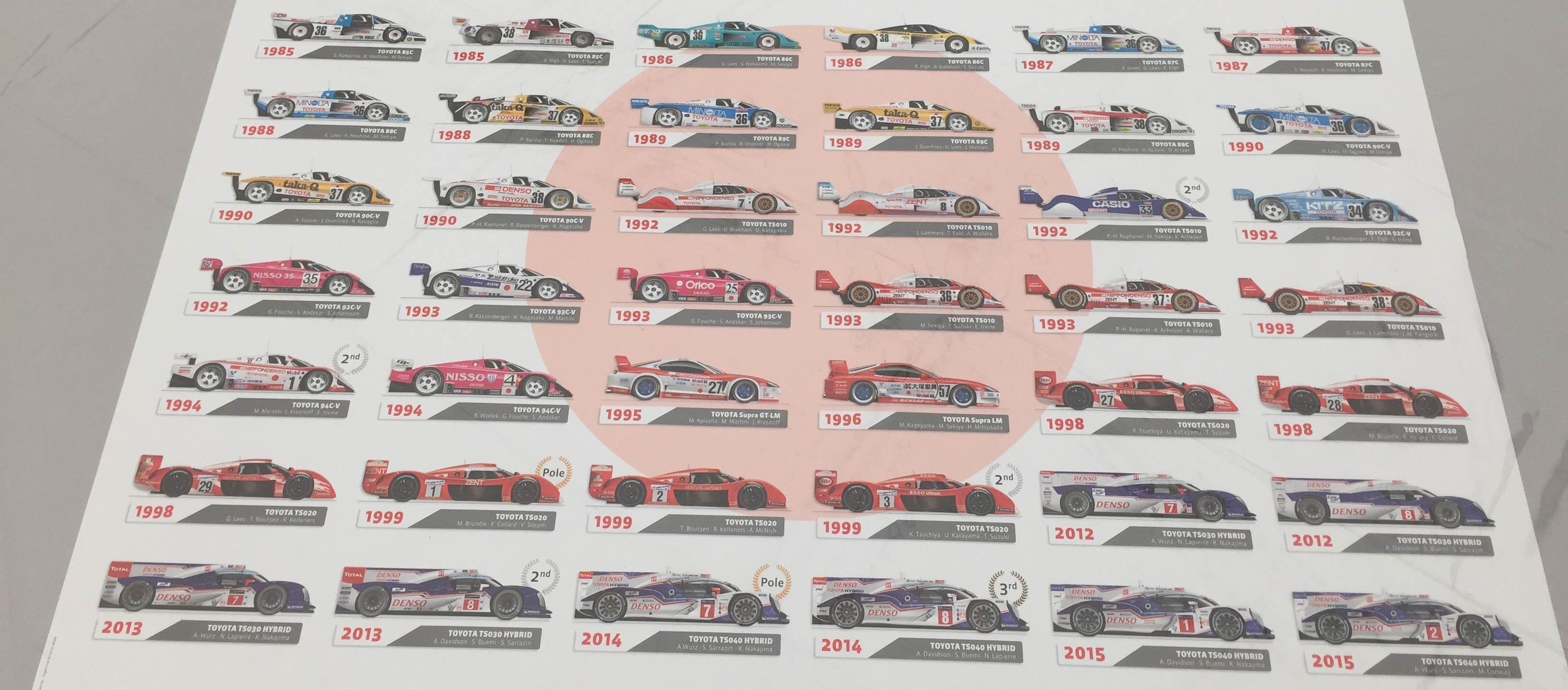 Toyota 30 en Le Mans