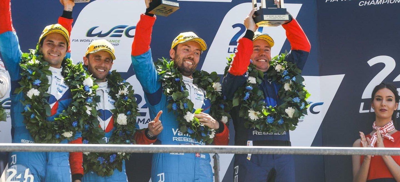 Heinemeier Hansson Le Mans 2017