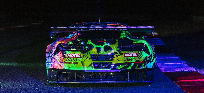 Larbre Corvette art car 2017