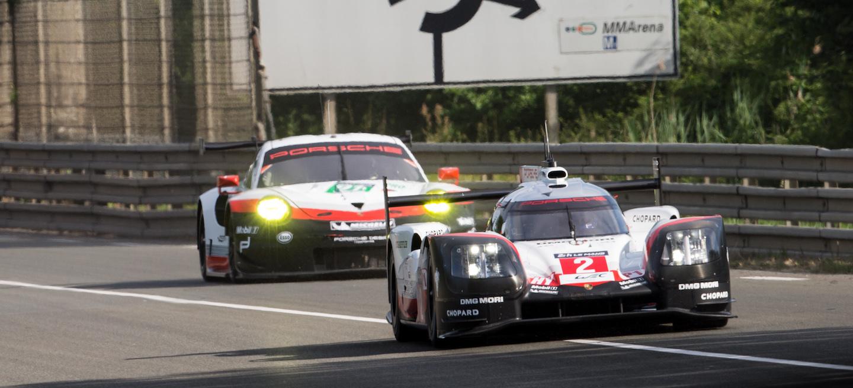Porsche test Le Mans 2017