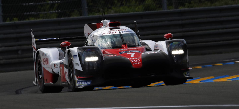 Toyota TS050 pole LM 2017